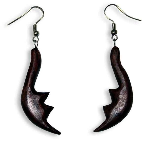 Ohrringe Holz Flügel