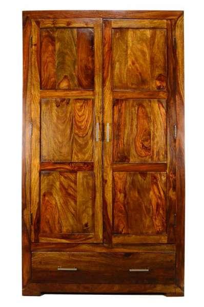 Kleiderschrank aus massivholz bambus dreams berlin - Massivholzmobel palisander ...