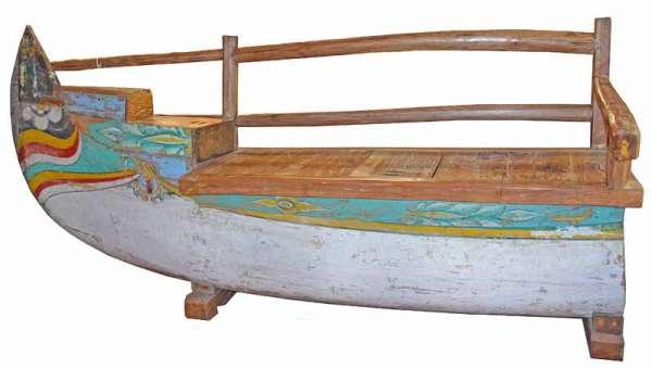 Sitzbank Fischerboot Bali