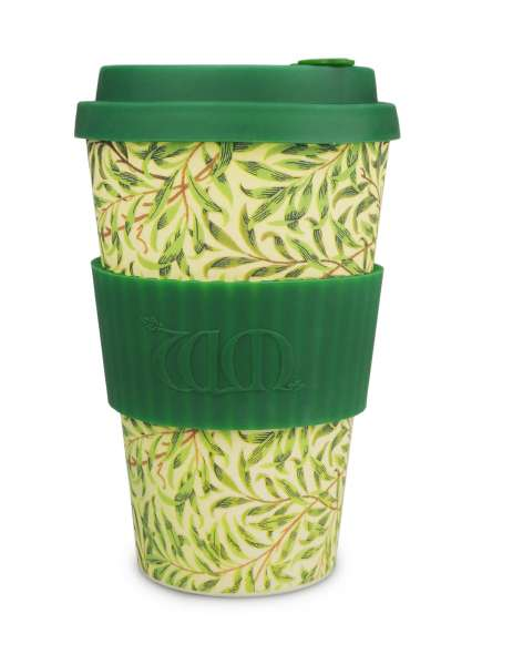 eCoffee Cup 400 ml Bambus Tea-2-Go Becher Willow designed by William Morris