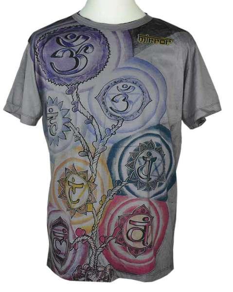 Mirror T-Shirt OM, grau