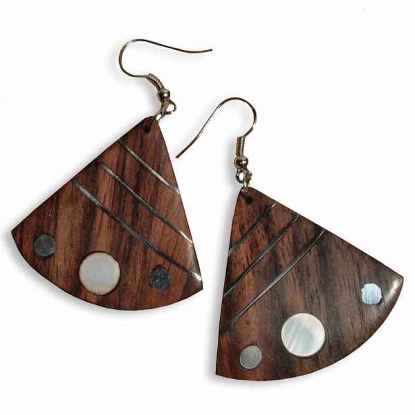Ohrringe Holz Arielle