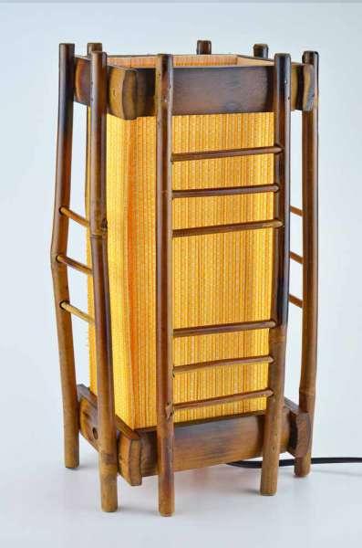 Tischlampe Thai Bambus M2