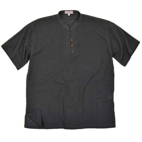 Hemd Asia Kurzarm für Männer, grau