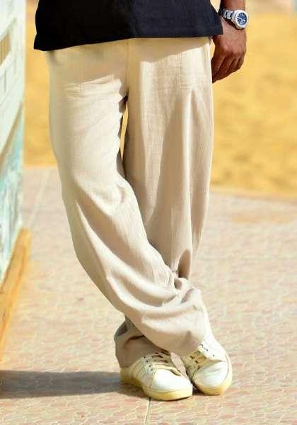 MABRASCO Freizeithose aus Baumwolle für Herren, Yogahose