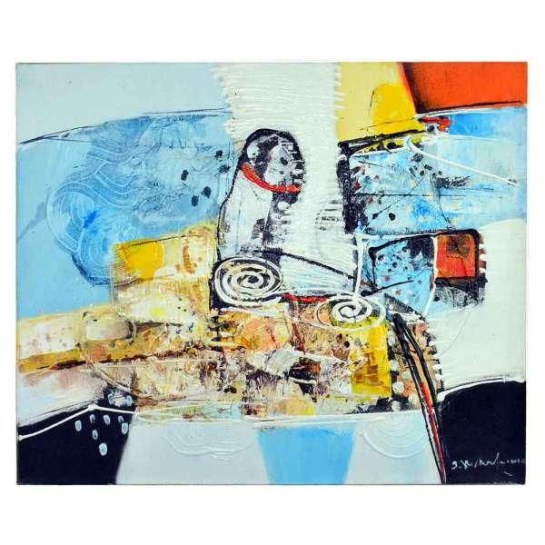 Bild Abstrakt Acryl auf Leinwand