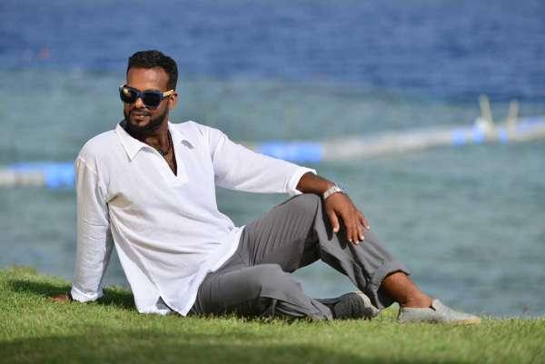 Tunika für Herren und Damen Fisherman-Hemd weiß, langarm