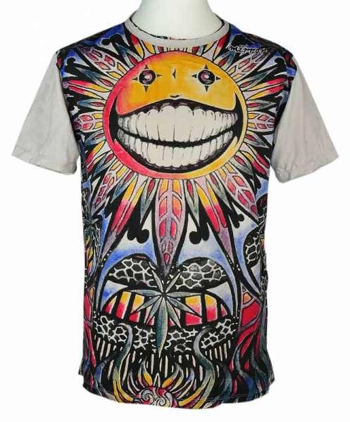 Mirror T-Shirt Sonne, sandfarben