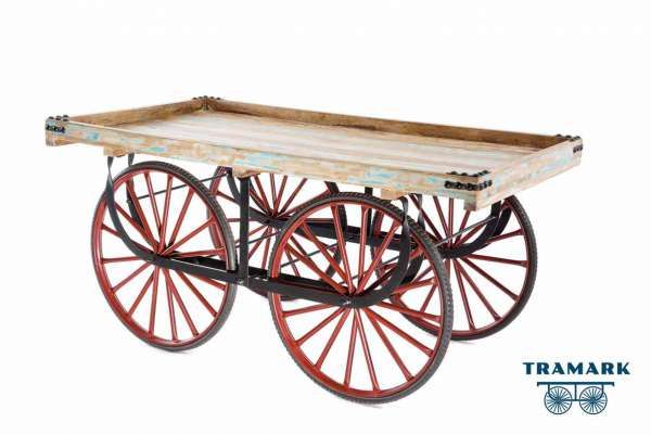 Marktwagen Vintage Mangoholz